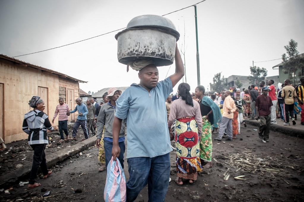 RDC: risque d'éruption volcanique, la ville de Goma se vide de sa population  - Bénin Web TV