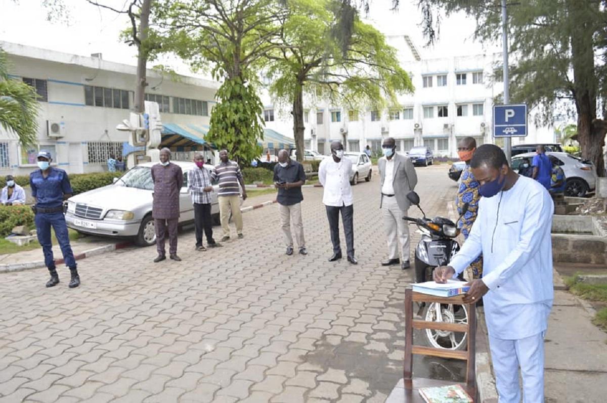 L'équipe de contrôle de retard à la mairie de Cotonou à l'oeuvre ce mardi 04 2021
