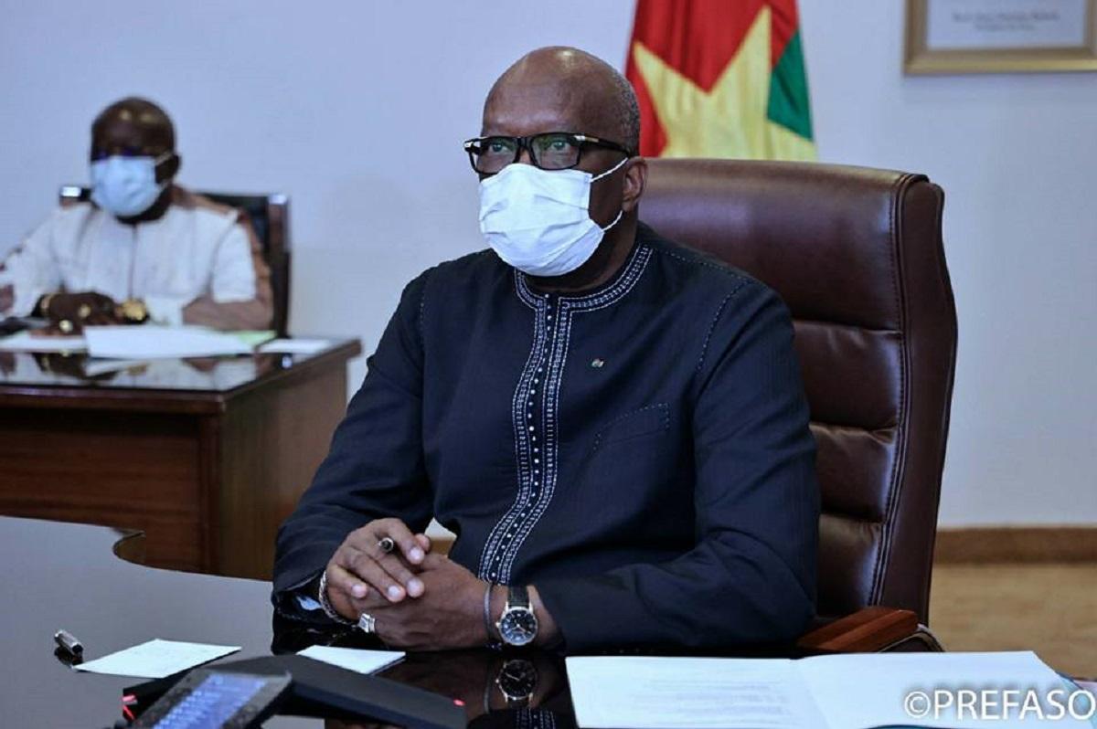 Le président Roch Kaboré -