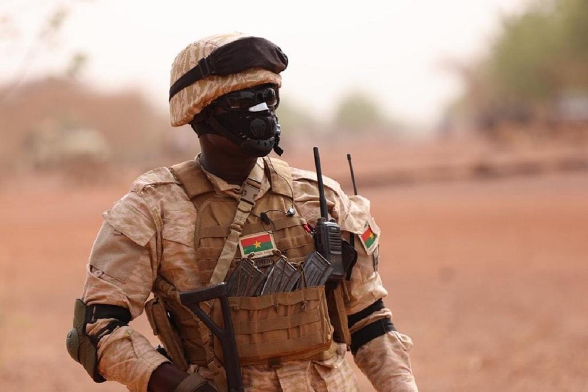 Soldats burkinabé