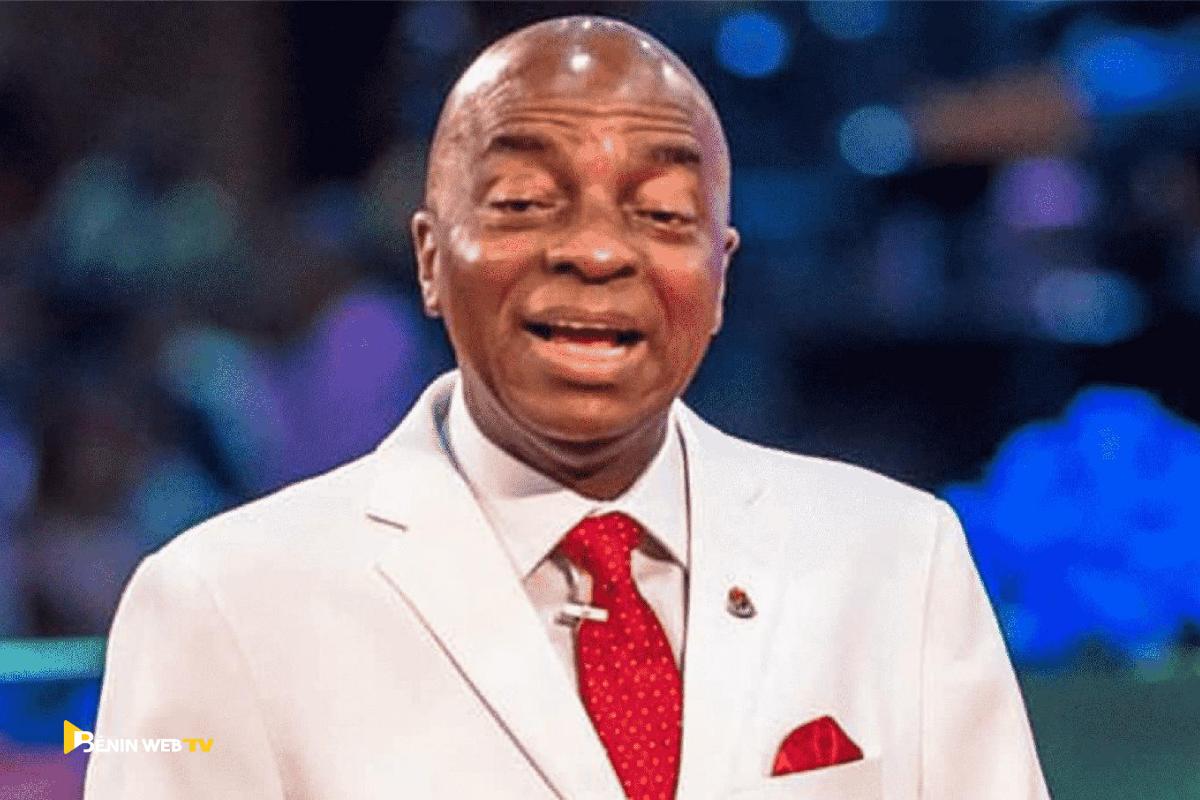 David Oyedepo, Président fondateur de Living Faith Church Worldwide, également connu sous le nom de Winners Chapel Worldwide