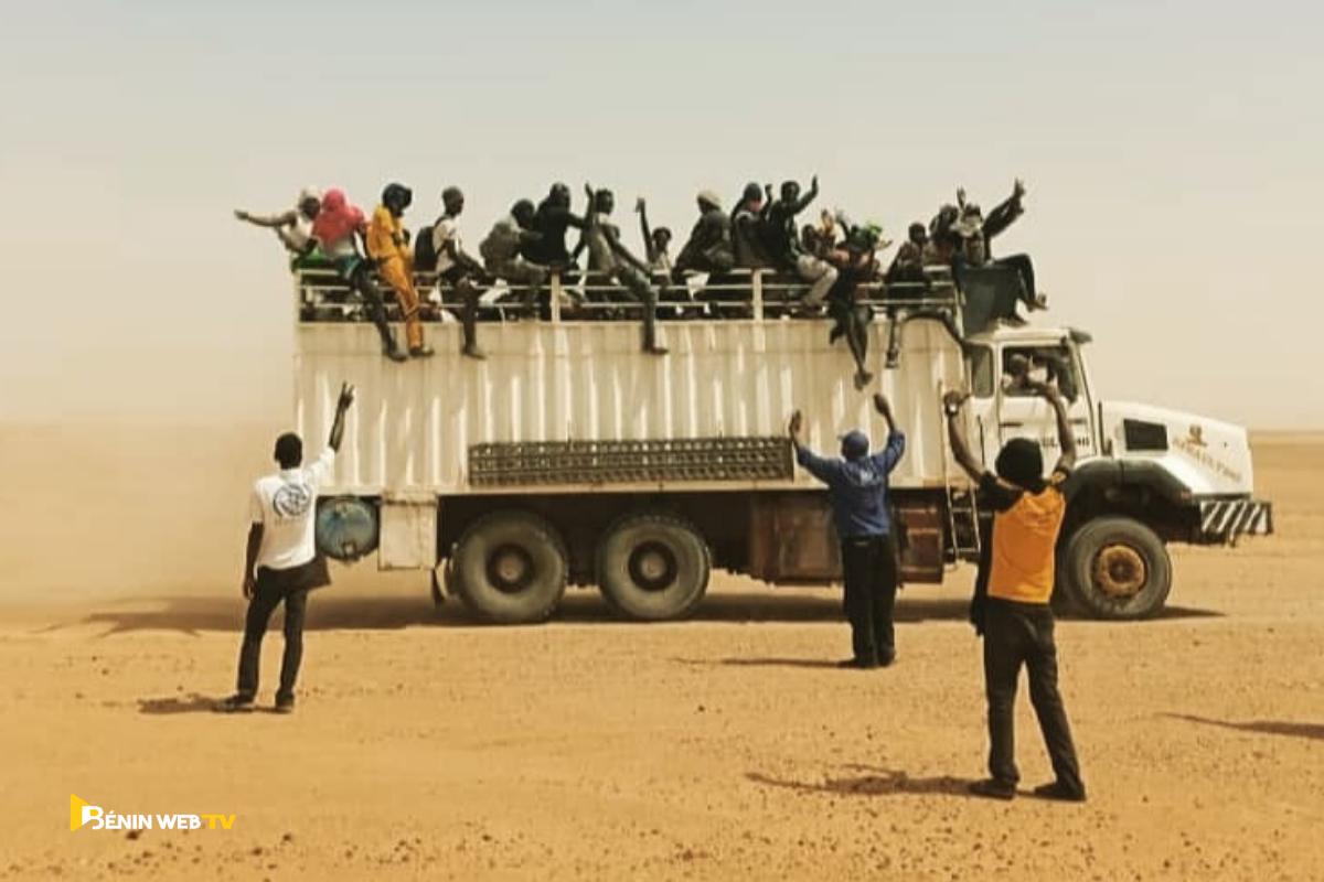 Plus 1 200 migrants ont été expulsés par l'Algérie vers le Niger