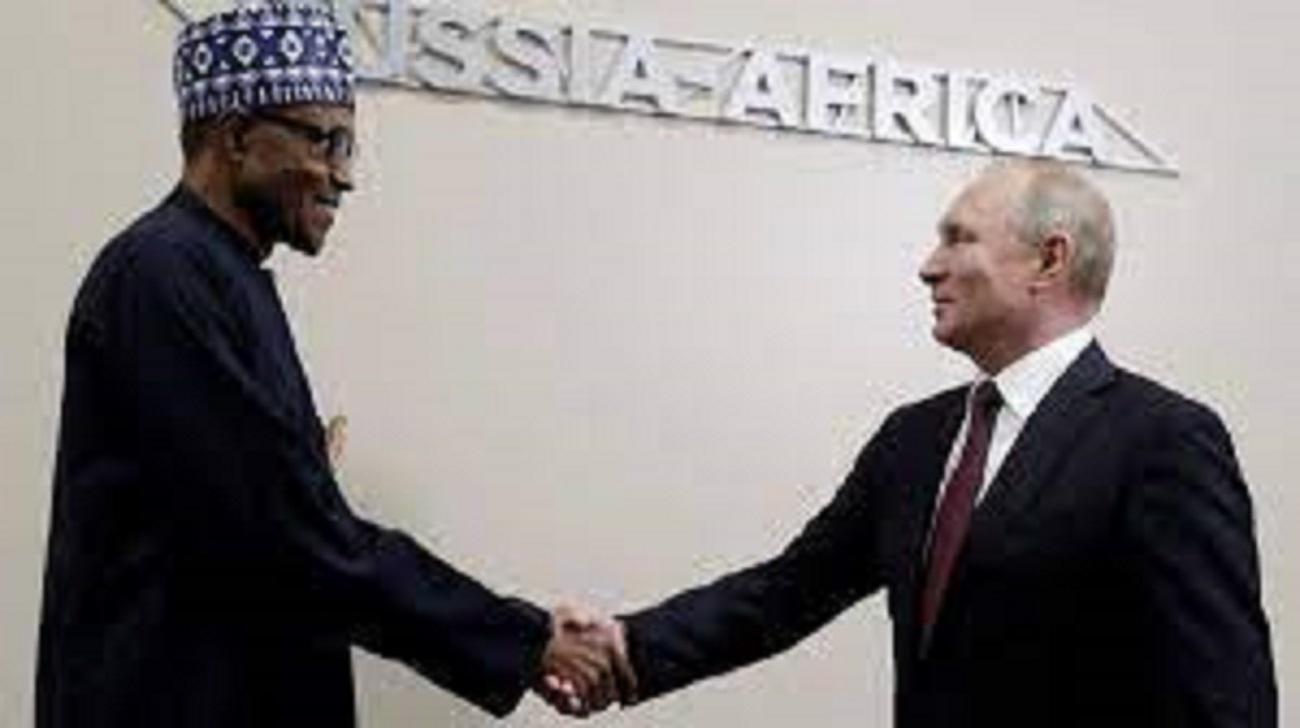 Buhari et Poutine