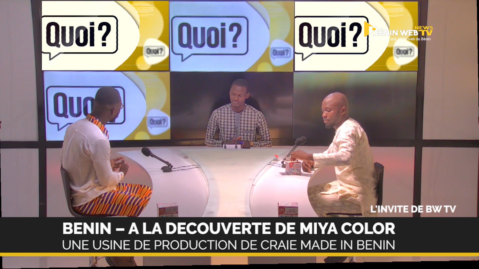 [vidéo] A la découverte de Miya Color, une usine de production de la Craie, Made in Benin