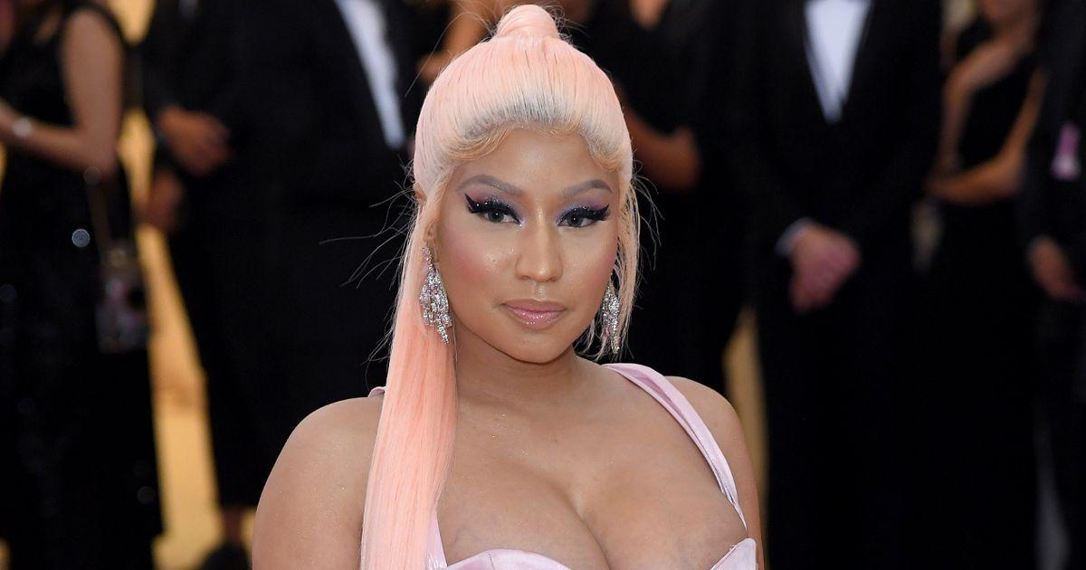 Nicki Minaj au gala du Metropolitan Museum of Art's Costume Institute le 6 mai 2019