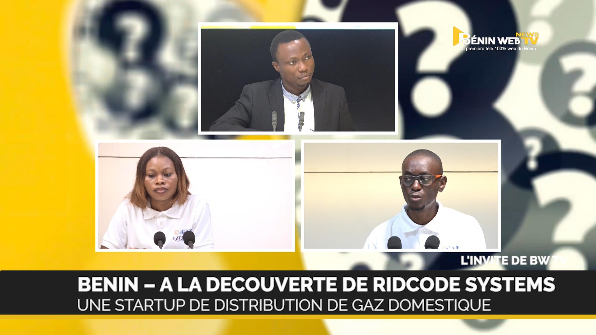Bénin : Ride Code System, une startup de distribution de Gaz domestique (vidéo)