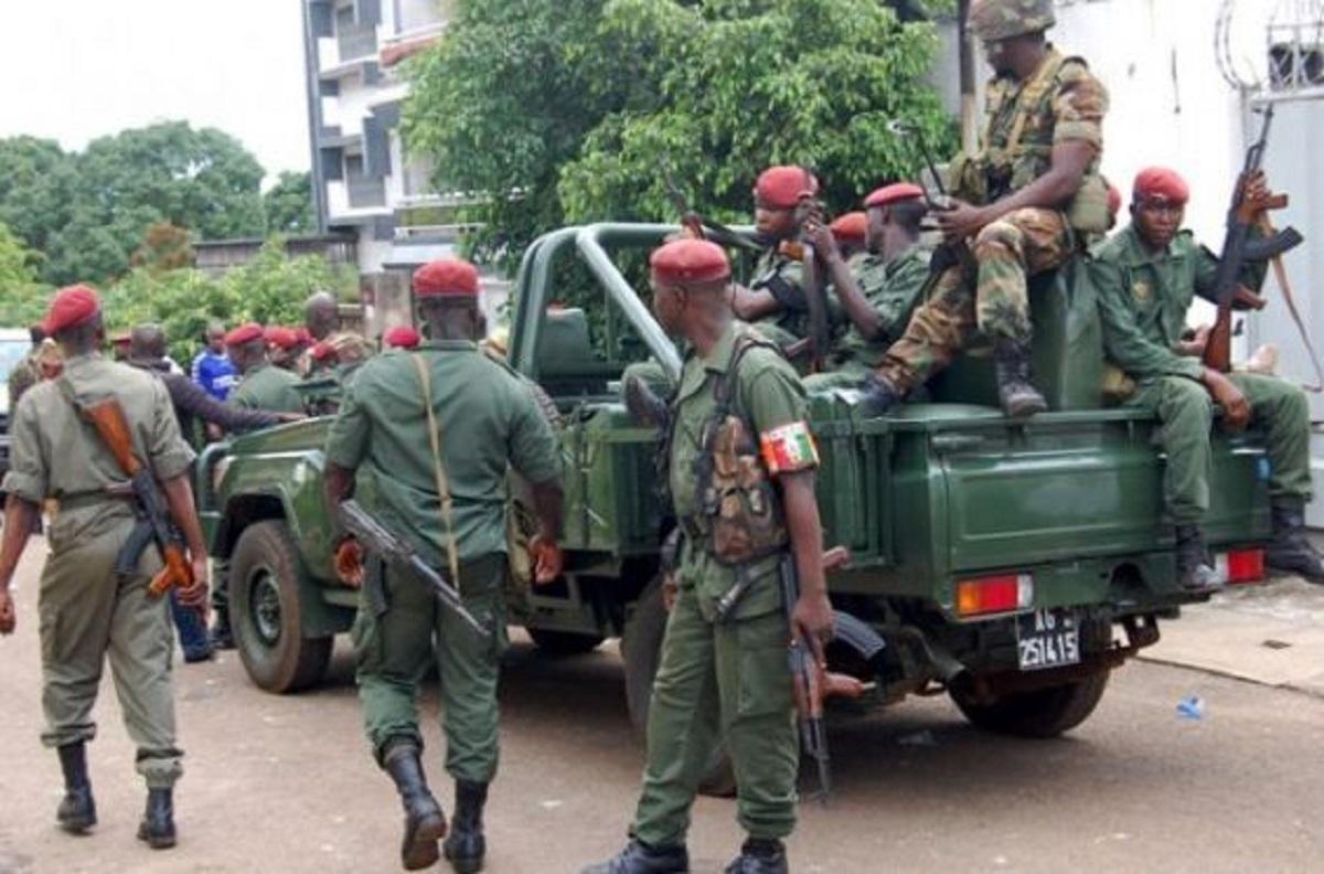 Soldats guinéens